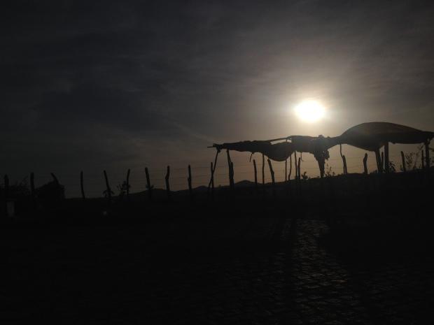 Por do Sol no sertão